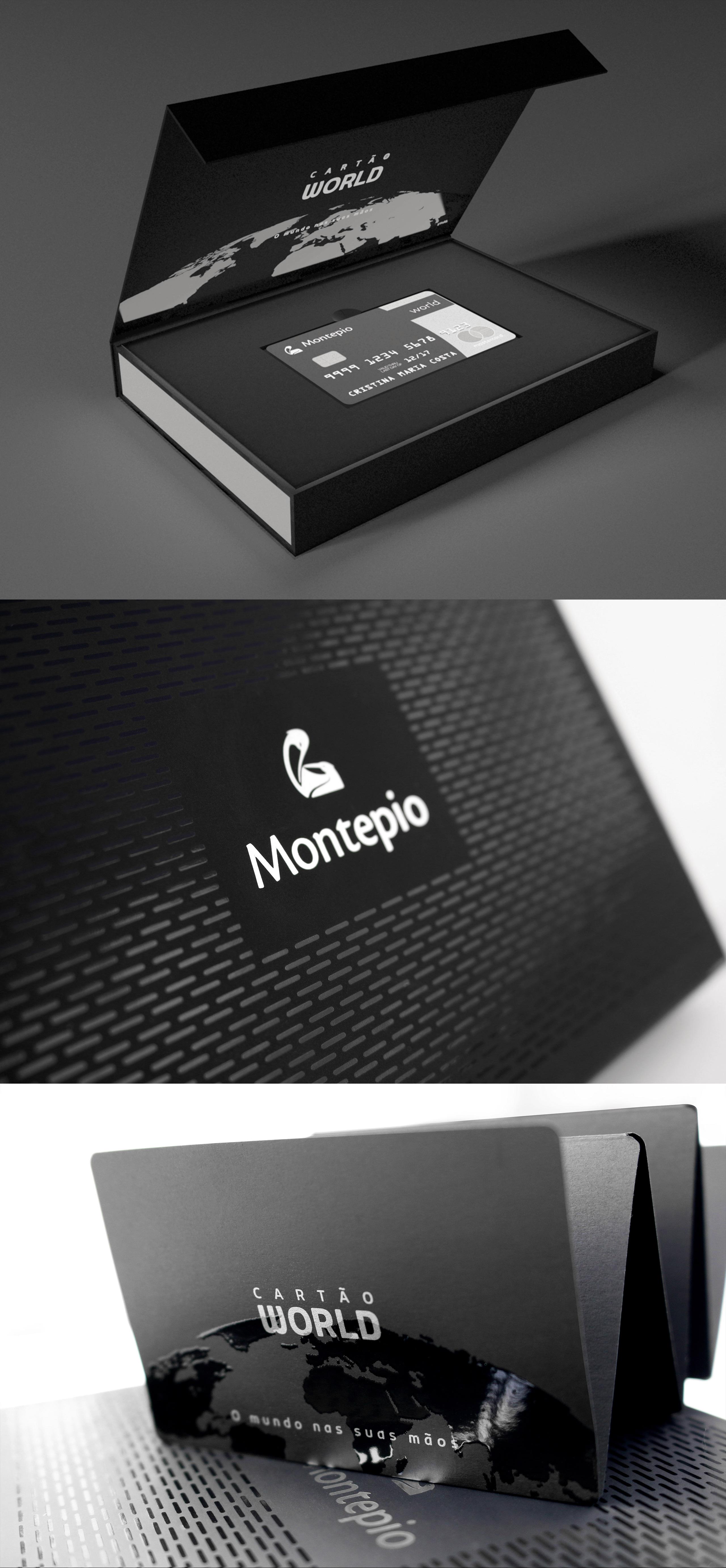 Packaging para Cartão Montepio World